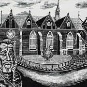 Jacobijnerkerk met Willem Lodewijk / Leeuwarden