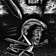KASPERS carTOON IS GEZET: Trump
