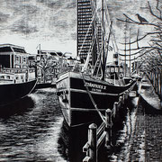 Stanfries met Achmeatoren, Leeuwarden
