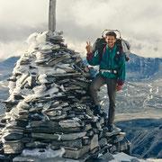 Endlich am Gipfel des Storronden!