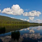 Nach einer kurzen Portage: Blick auf den Skoi Lake.