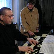 Uli Gumpert mit Uschi Brüning (2005)