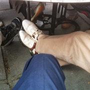 vermoeide voeten!
