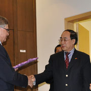 Empfang in der Botschaft der Volksrepublik China am 15. April 2010