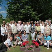 Gartenfest bei der Familie Knitter in Ludwigsfelde am 26. Juni 2010