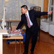 17. April 2012, Vorführung Massagesystem durch den Heilpraktiker Zhen Zhang in Woltersdorf