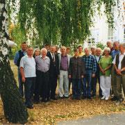 Gründungsmitglieder des Freundschaftsvereins am 1. Oktober 1999