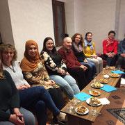 Integrationsbeirat Kitzingen: Interkulturelle Begegnung im Selam Mainfranken Verein 03/19