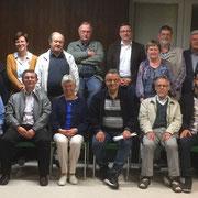Treffen mit der ACK (Arbeitsgemeinschaft christlicher Kirchen mit dem Interreligiösen Gesprächskreis Würzburg 05/18 - Ökumenisches Zentrum Lengfeld