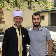 Srebrenica Gedenktag 07/2020 mit unserem geschätzten Imam Zahir Durakovic und unserem Vorstand Hamza Özkan in Würzburg.