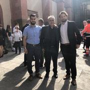 Gedenkfeier im Würzburger Dom mit Ahmet Bastürk dem Sprecher der fünf Moscheegemeinden in Würzburg 06/2021