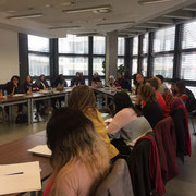 """Symposium at the University of Applied Sciences Würzburg-Schweinfurt: DAAD Higher Education Dialogue with Jordan an Lebanon  """"Life of Refugees in Host Communities: """"Reducing inequalities and promoting peaceful and inclusive societies""""  04/19"""