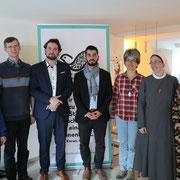 Franziskaner Kloster Obzerell - Haus Klara: Besonders schön: Die Ordensschwester neben der muslimischen Glaubensschwester