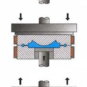 Stampaggio a caldo di materie plastiche