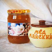 Мёд майский; 0,45 л – 630 гр.