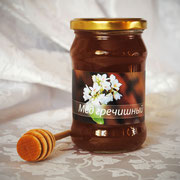 Мёд гречишный; 0,30 л – 420 гр.