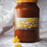 Мёд цветочный; 0,95 л – 1330 гр.