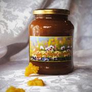 Мёд цветочный; 0,45 л – 630 гр.