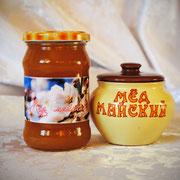Мёд майский; 0,30 л – 420 гр.