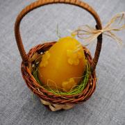 Яйцо с цветочками (в корзинке)