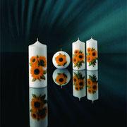 Sonnenblumenkerzen