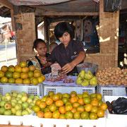 Typische Früchte der Region