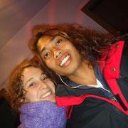 Meine Frau Sandra und ich