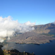 The great view on the crater rim