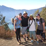Andreas und unsere australischen Gäste
