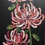 ●タイトル:「千代菊」●サイズ-390-280