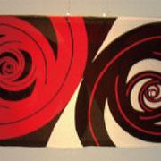 ■深淵[abyss]2009 捺染/木綿 [silkscreen printing/ cotton ]