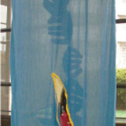 ■連手[Chain]2007 スエード、綿布/ソーイング [suede、cotton cloth/sewing]