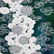 ●タイトル:「水蓮」●サイズ-810-620
