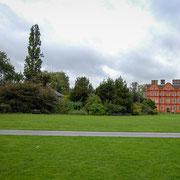 Kew Palace。 1631年に建造されたキュー・パレス。ジョージ三世、17世紀の宮殿