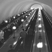 地下鉄2 とても深いです