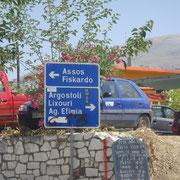 Auf den Weg zum Assos