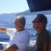 In Segelschiff