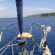 Mit den Segelschiff nach Ithaki