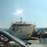 Argostoli Hafen