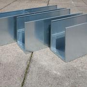 Drei Längen des 60er Modulsystems in 45 cm Tiefe