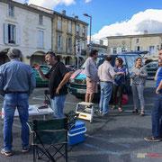 Permanence mobile / Réunion de place, en présence de Christophe Miqueu, devant la Mairie pour les Insoumis de la 12ème, 5 juin 2017