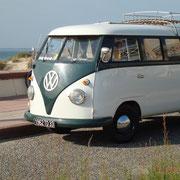 Volkswagen T1, 1950-1967, Soulac-sur-Mer Photographie © Christian Coulais