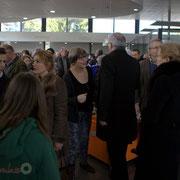Vaste foule pour cette inauguration du Pôle culturel et social, La Source, ce 7 février 2015 à Sallebœuf