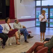 Fabienne Hurmic, suppléante. Lancement de campagne d'Anne-Laure Fabre-Nadler, 12ème circonscription de la Gironde, 17 mai 2017, Sadirac