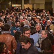 2 Un public intergénérationnel, avec une belle proportion de jeunes et d'élus du département. Théâtre Fémina, Bordeaux. #benoithamon2017