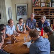 Conférence de presse des Insoumis de la 12ème circonscription de la Gironde à Saint-Macaire. 17 mai 2017