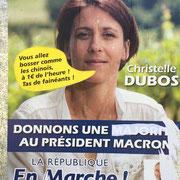 """""""Expression d'opposant-e"""" La Réole, 8 juin 2017"""