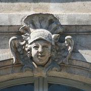 Mascaron de Bordeaux, à visage de faune. Reproduction interdite - Tous droits réservés © Christian Coulais