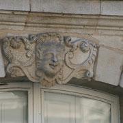 Mascaron de Bordeaux, à visage d'homme. Reproduction interdite - Tous droits réservés © Christian Coulais