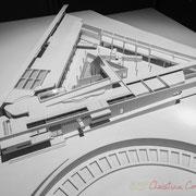 Institut de recherche de la Provence antique, Musée départemental d'Arles. H.E. Ciriani, architecte. Maquette 1